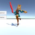 【Unity, Teddy, 3Dモデリング】描いた絵をキャラクターに取り付ける方法