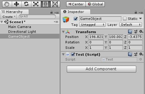Unity Switch Enum